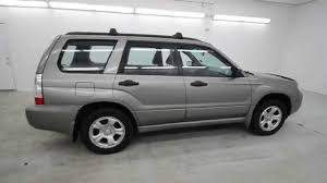 white subaru forester 2006 2006 subaru forester 2 5x crystal gray metallic 6h719319