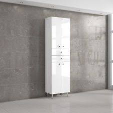 Bathroom Storage Units Free Standing Tall Bathroom Storage Cabinet With Laundry Bin Genwitch