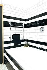 Black And White Bathroom Rugs Black And White Bathroom Rugs Photo 2 Of 7 Black And White Striped