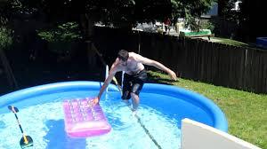 pool tightrope youtube