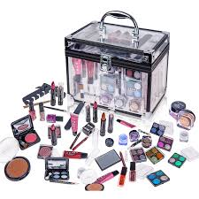 amazon com shany carry all trunk professional makeup kit