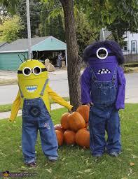 Minion Halloween Costumes Kids Halloween Costumes Siblings Cute Creepy