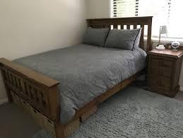 Queen Bedroom Suite Queen Bed In The Hills District Nsw Beds Gumtree Australia