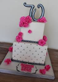awesome ideas diamond birthday cake and marvelous two tiered