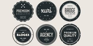 design a vintage logo free 20 free hipster and vintage badges pixelosaur blog