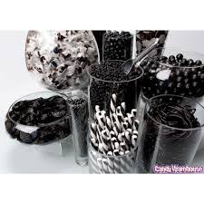 Black And White Candy Buffet Ideas by Black Candy Buffet Bold Black Pinterest Buffet Wedding And