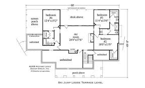 house floor plans with basement country house plan 4 bedrms 3 5 baths 4002 sq ft 163 1026