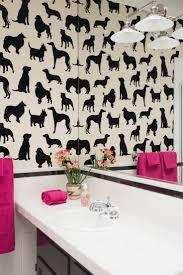 267 best wallpapered bathroom images on pinterest bathroom ideas