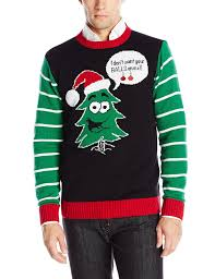 mens light up ugly christmas sweater ugly christmas sweater men s balls at amazon men s clothing store