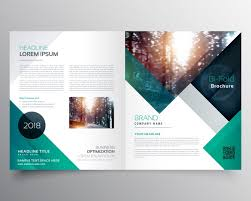 template of brochure free brochure templates examples 20 free