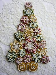 mézeskalács christmas gingerbread star and tree cookies himes