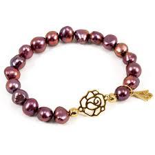 pearls bracelet images Rose pink pearls bracelet soona new york jpg