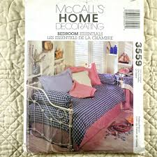 Pleated Table Covers Bedroom Essentials Pattern Mccalls 3559 Home Decor Pleated