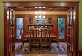 Craftsman Dining Table by 22 Amazing Craftsman Dining Room Designs