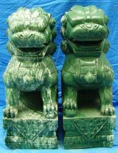 foo dogs statues foo dog statues for sale at online auction modern