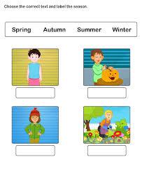 seasons worksheet 2 science worksheets kindergarten worksheets