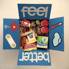 feel better care package is someone you feeling the weather can t be there for