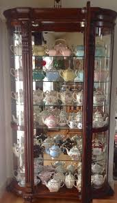 43 Best Curio Cabinet Images On Pinterest Wall Curio Cabinet Wall