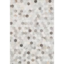 Black And White Floor Rug Modern Cowhide Rugs Allmodern