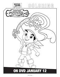 free printable jake land pirates coloring pages