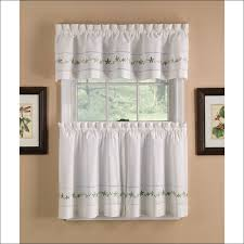 Modern Kitchen Valance Curtains by Kitchen Blue Sheer Curtains Navy And White Curtains Kitchen