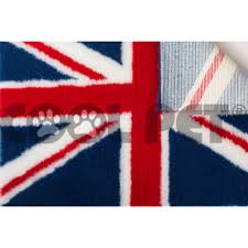 English Flag Drybed Anti Sore Thermal Insulating Blankets For Dogs And Cats