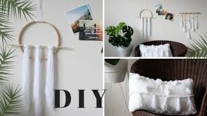 diy boho minimalist room decor pinterest inspired youtube
