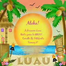 luau invitation templates katinabags with regard to hawaiian
