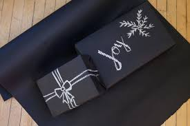 black gift wrapping paper roll matte black gift wrap 15 chalkboard paper roll black
