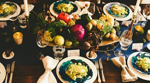 a small swanky thanksgiving dinner menu the splendid table