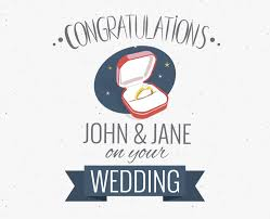 wedding congratulations wedding congratulations greeting card maker editable design