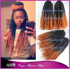 can you dye marley hair stock 20 black golden brown two tone color synthetic afro kinky