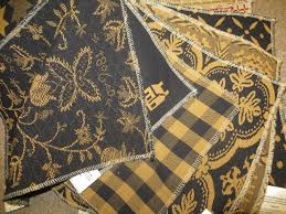 black u0026 mustard upholstery fabric www theredbrickcottage com rbc
