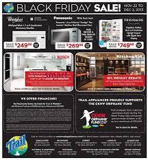 black friday fridge deals trail appliances canada black friday 2013 sales and deals flyer