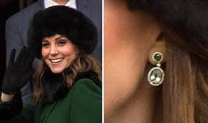 earrings kate middleton kate wears special edition earrings on sweden royal