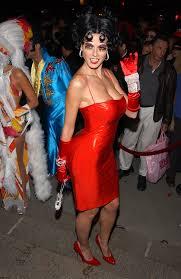 betty boop halloween 16 of the sexiest celebrity halloween costumes thedailyheel