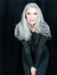 hairstyles for gray hair women over 55 50 best real women over 50 images on pinterest grey hair