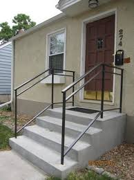 Porch Stair Handrail Easy To Install Outdoor Stair Railing Exterior Delectable Home