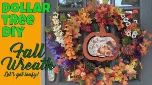 dollar tree halloween background dollar tree diy fall wreath let u0027s get leafy large front door
