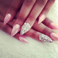 pointy nails design how you can do it at home pictures designs