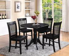 Black Round Kitchen Table Kitchens Design - Black kitchen table
