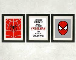 spiderman wall art spiderman wall mural ebay with spiderman