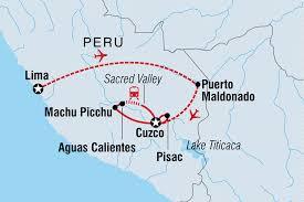 Peru On Map Peru Family Adventure Peru Tours Intrepid Travel Us