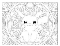 Little Pikachu Pokemon Coloring Pages Bulk Color Of Pokeman We Color Pages