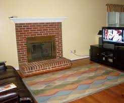 paint colors for living room with red brick fireplace u2013 modern house