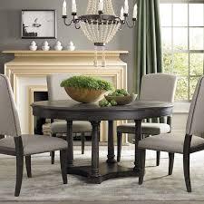 gray round dining table set kitchen blower aldridge antique gray dining table round in amazing
