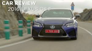 lexus canada factory first drive 2016 lexus gs f driving ca youtube