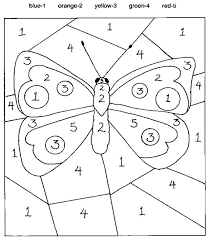 preschool coloring pages with numbers coloring exercises color number for kindergarten coloring free