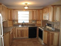 Images For Kitchen Furniture Hickory Kitchen Cabinets Doors With Black Appliances Oak To White
