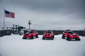 Nissan Rogue Warrior - nissan brings trio of winter warrior concepts to chicago